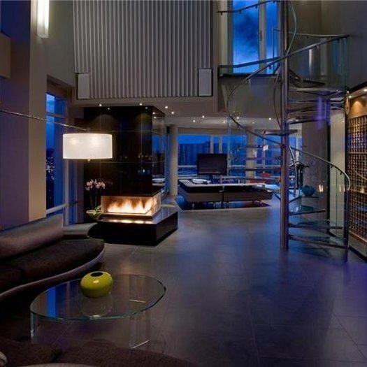 Vancouver Luxury Condos: THE AQUARIUS PENTHOUSE SUITE