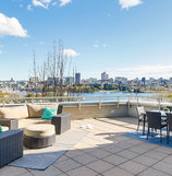 Gorgeous Patio Overlooking David Lam Park :: #605 - 388 Drake Street