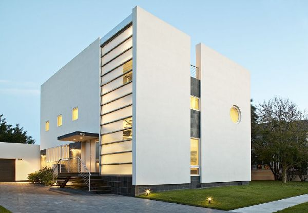 Modern cube house plans house modern Cube house plans
