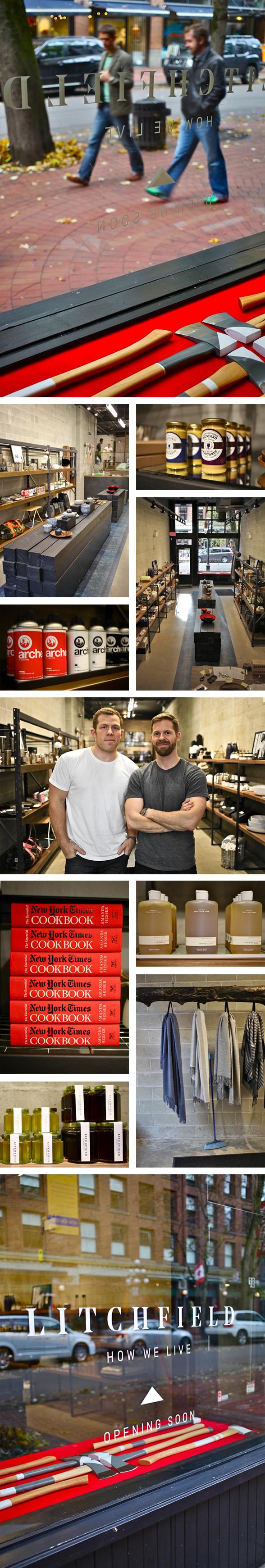 Man Cave Store Vancouver : Litchfield blu realty unique property marketing